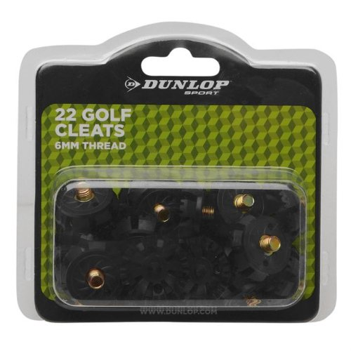 Dunlop, Softspike-Stollen für Golfschuhe, 6-mm-Gewinde, 22Stollen