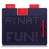 Magnet Toys Magnetic Drawing Board for Toddlers with Beads and Drawing Stylus - STEM Montessori Road Trip Activities for Kids Fun Improves Fine Motor Skills - Gift for Kids 3,4,5,6,7,8 Year Old