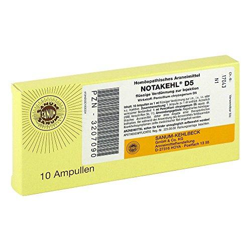 NOTAKEHL D 5 Ampullen 10X1 ml