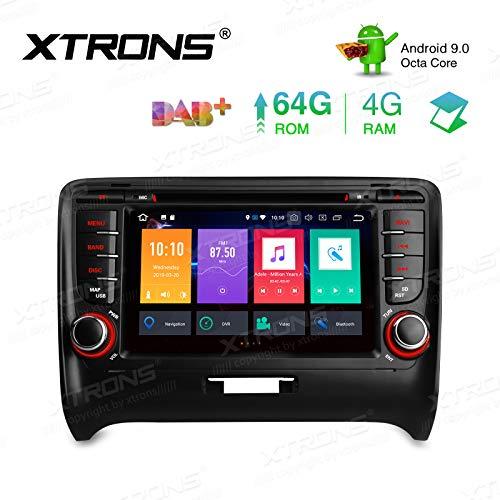 XTRONS - Unidad de Doble DIN para Android 9.0 4G+64G Octa Core Car Estéreo 7