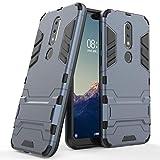Case for Nokia X6 / Nokia 6.1 Plus (5.8 inch) 2 in 1