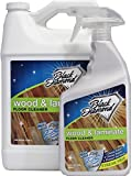 Black Diamond Stoneworks Wood & Laminate Floor Cleaner: For Hardwood, Real, Natural & Engineered Flooring –Biodegradable Safe for Cleaning All Floors