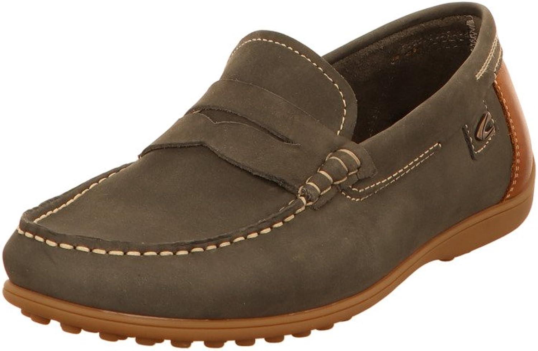 Camel active Men's Loafer Flats bluee Indigo nut