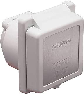 Marinco Standard 30-Amp / 125V Easy Lock Power Inlet