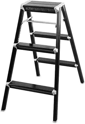 calidad fantástica Taburete Taburete Taburete Plegable Ligero Portátil del Paso Escalera del taburete de la escalera Taburetes de la escalera de la aleación de aluminio resistente, antideslizante Los taburetes del paso del hogar cargan 1  el mas de moda