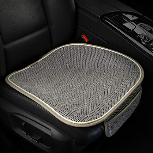 yberlin Car Seat Pad Cover,Breathable Comfort Car Front Drivers or Passenger Seat Cushion, Universal Auto Interior Seat Bottom Protector Mat Fit Most Car, Truck, SUV, or Van
