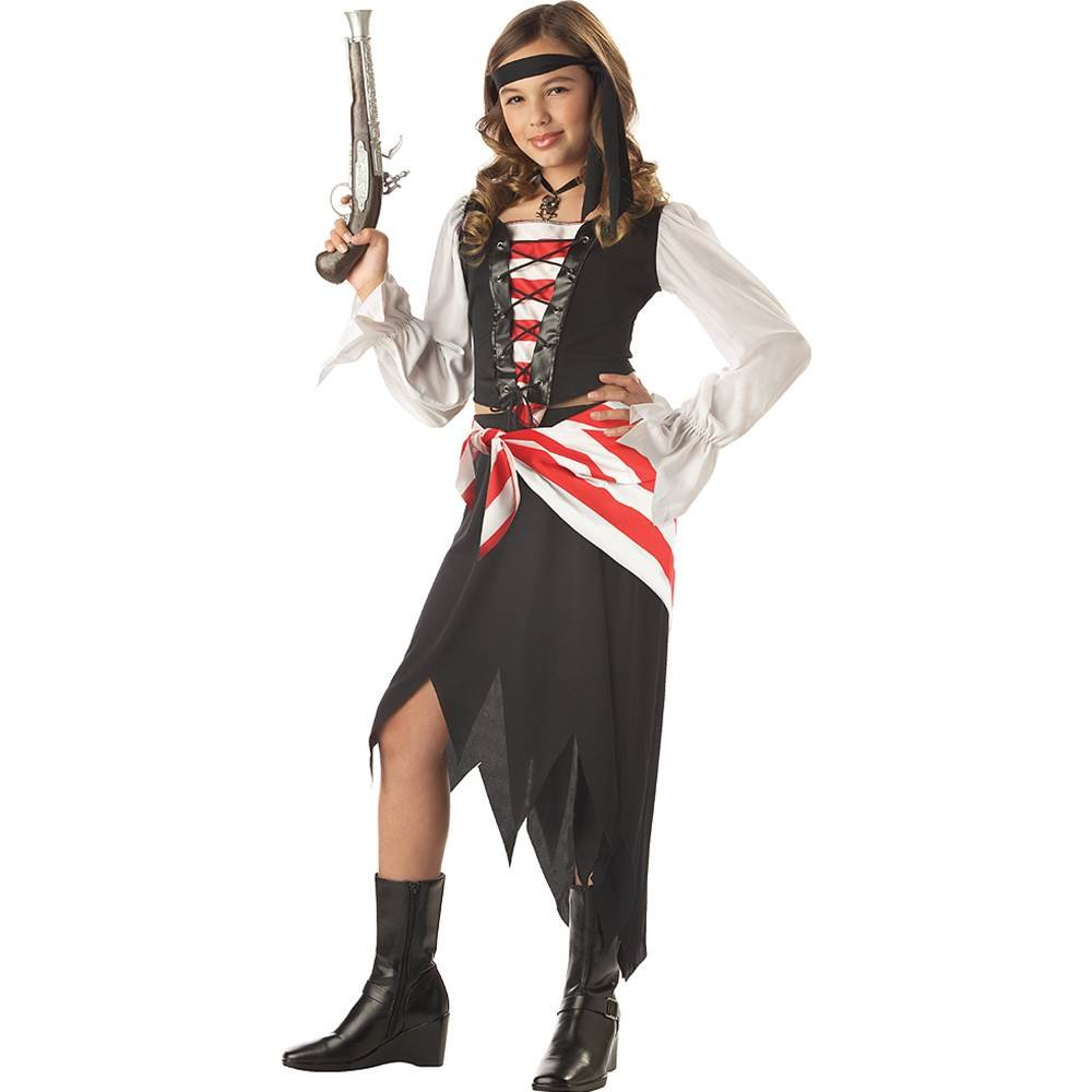 California Costumes Ruby The Pirate Beauty Child Costume, Small