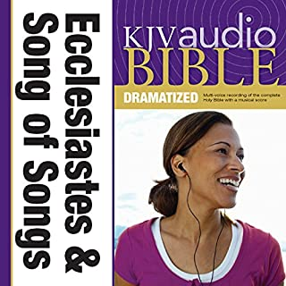 Dramatized Audio Bible - King James Version, KJV: (20) Ecclesiastes and Song of Songs audiobook cover art
