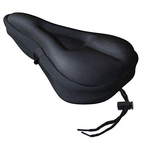 Zacro Coprisella per Bici Morbida Professionale e Copertura Impermeabile e Antipolvere, Nero