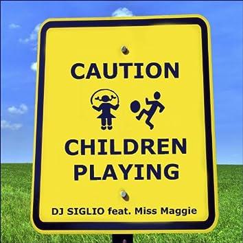 Caution Children Playing