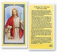 Hail Mary Gifts 25枚 成長するお年寄りへの祈り 聖カード