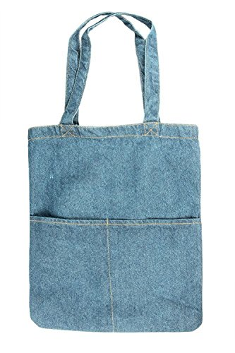Bronta Mill ,  Strandtasche Blau Light Wash