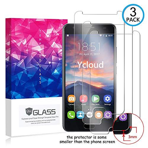 Ycloud [3 Pack] Protection écran pour Oukitel K6000 Plus, [9H Hardness, Anti-Rayures] Verre Trempé Protecteur d'écran Screen Protector, Appliquer à pour Oukitel K6000 Plus