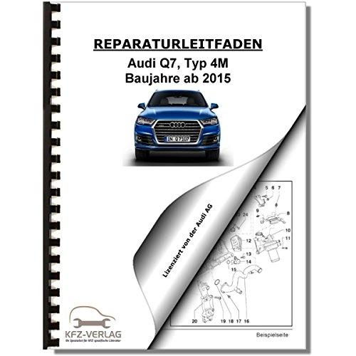 Audi Q7, Typ 4M (15>) Bremsanlagen, Bremsen - Reparaturanleitung