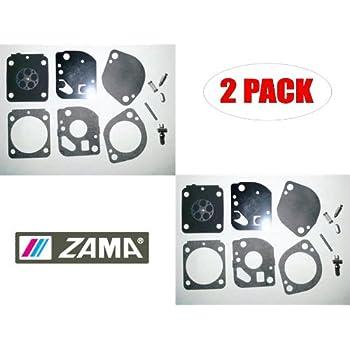 Zama OEM RB-128 Carb Repair Kit for Cub Cadet CC3075 String Trimmer