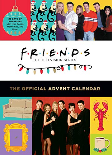 Friends: The Official Advent Calendar (2021 Edition): 25 Days of Surprises with Mini Books, Mementos, and More!