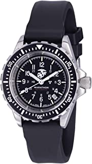 Marathon Watch WW194006USMC GSAR Swiss Made Military Issue Diver's Automatic Watch with Tritium (41 mm, USMC Markings)