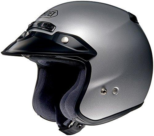 Shoei RJ Platinum R nero opaco casco aperto
