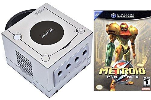 Nintendo GameCube Metroid Prime Bonus Bundle (Limited Edition Platinum)