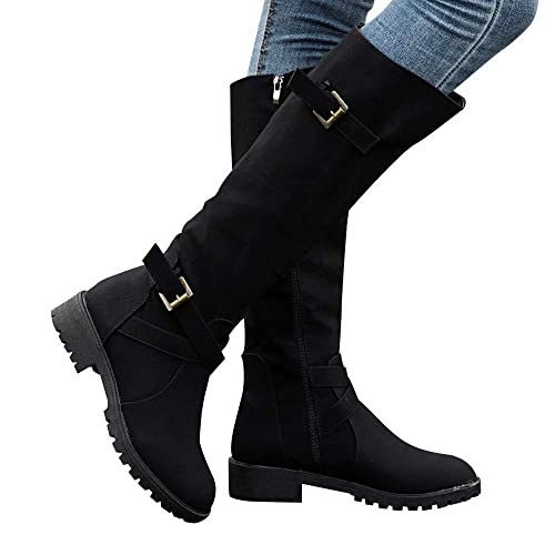 df6b47dae53 Ladies Calf Boots  Amazon.co.uk