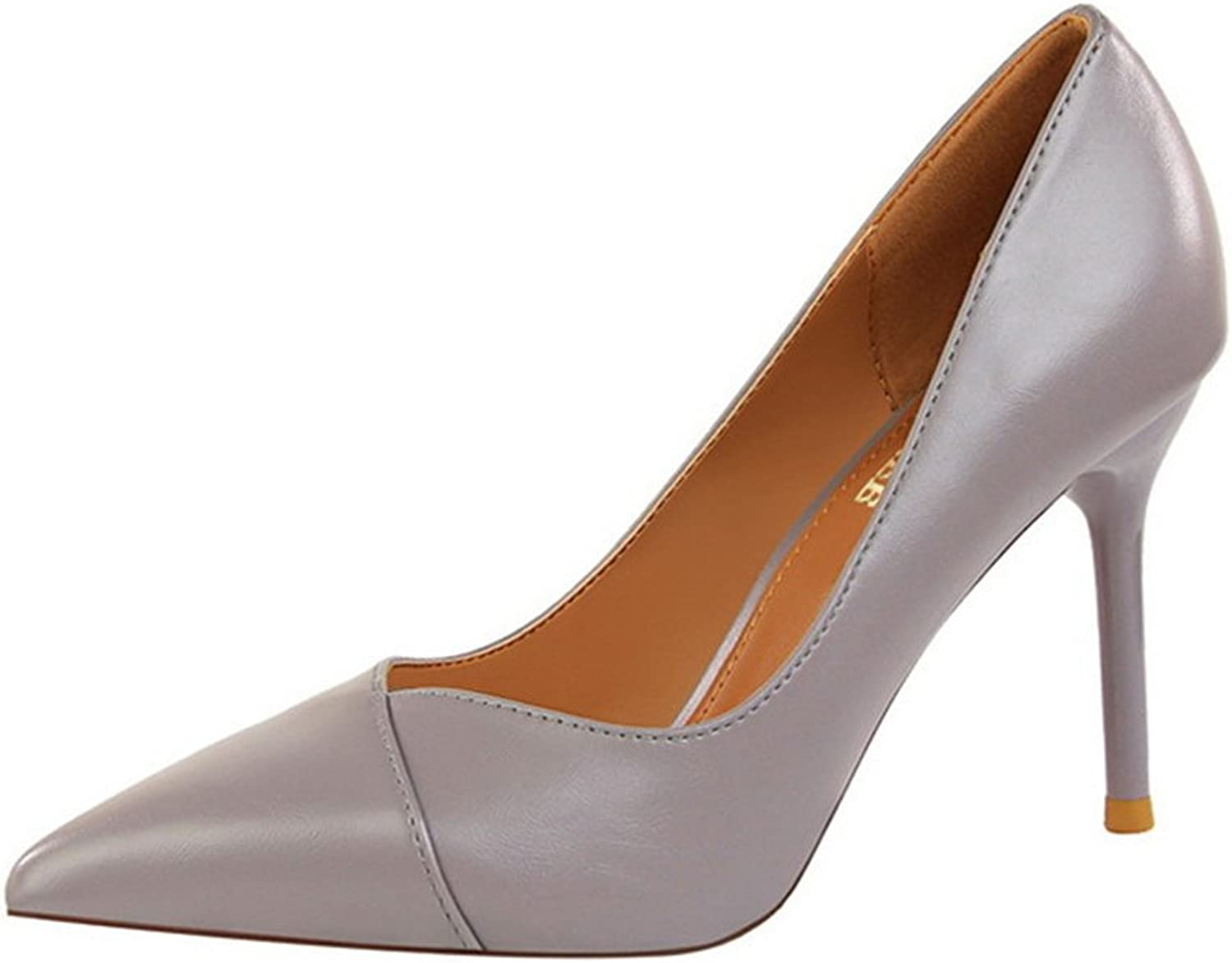 Owen Moll Women Pumps, Concise Office Pointed Toe Shallow High Heels Sandal shoes