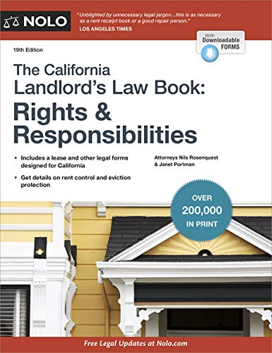 California Landlord's Law Book, The: Rights & Responsibilities (California Landlord's Law Book : Rights and Responsibilities) (English Edition)