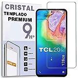 REY Protector de Pantalla para TCL 20 5G, Cristal Vidrio Templado Premium