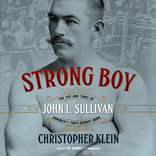 Strong Boy audiobook cover art