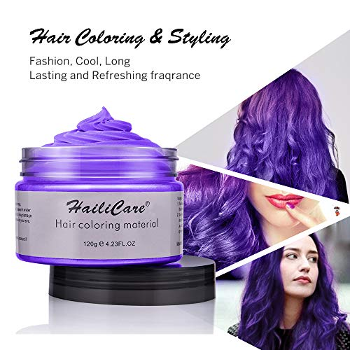 4 Colors Temporary Hair Dye Wax