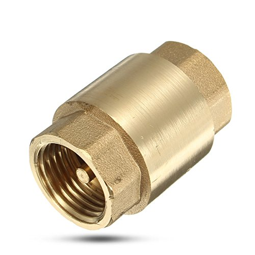MYAMIA 1/2 inch Messing Nicht-Rücklaufventil vertikale Rückschlagventile für Wasser