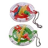 F Fityle Bola de Laberinto 3D Juguete Puzzle Bola Laberinto Laberinto Niños Juguetes Educativos