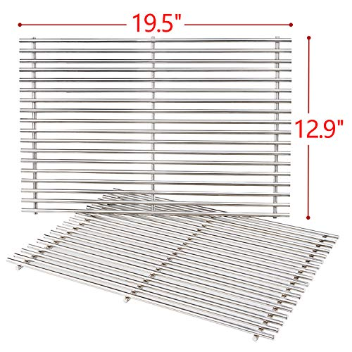 SHINESTAR 19.5-inch Grill Grates Replacement Parts for Weber Genesis 300 Series, Grill Cooking...
