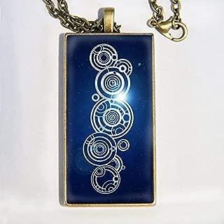 gallifreyan name necklace