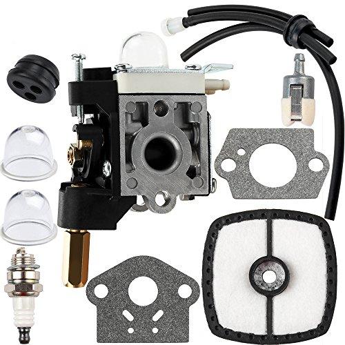 Dalom SRM 210 Carburetor w Fuel Line Kit for Echo Trimmer Parts PE200 GT200 SRM210 PE 200 HC150 SRM211 GT200 Weed Eater Tune Up Kit