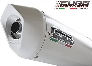 BMW R1200R 2006-2010 GPR Exhaust Systems Albus White Slipon Silencer Road Legal