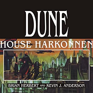 House Harkonnen: House Trilogy, Book 2                   Written by:                                                                                                                                 Kevin J. Anderson,                                                                                        Brian Herbert                               Narrated by:                                                                                                                                 Scott Brick                      Length: 26 hrs and 36 mins     5 ratings     Overall 4.8