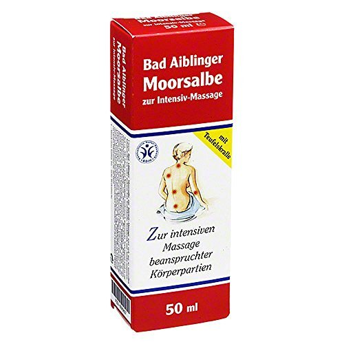 Moorsalbe Bad Aiblinger zur, zum Intensiv Massage 50 ml by MOORSALBE