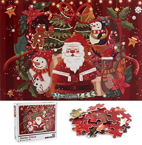 Cangroo Puzzle 1000 pezzi adulti- Puzzle Natale,Babbo Natale,natale decorazioni puzzle,puzzle adulti,bimbi puzzle(70x50cm)