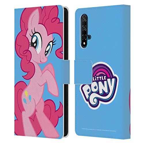 Head Case Designs Licenciado Oficialmente My Little Pony Pinkie Pie Solo Arte del Personaje Carcasa de Cuero Tipo Libro Compatible con Huawei Nova 5T