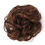 Alaso Queue de Cheval Postiche Cheveux Épaississement Chouchou Updos Fibre Synthétique Résistant à la Chaleur Élastique Bandes De Cheveux Pour Femmes Filles