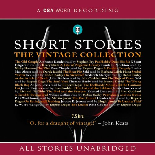 Short Stories: The Vintage Collection audiobook cover art