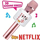 Move2Play Motown Magic Bluetooth Karaoke Microphone, Pink, for Girls, for 4 5 6 7 8 Year Old Girls, Pink Mic