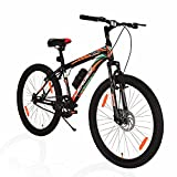 Leader Beast MTB 26T Hybrid Cycle with Front Suspension and Disc Brake Mountain Bicycle Without Gear...