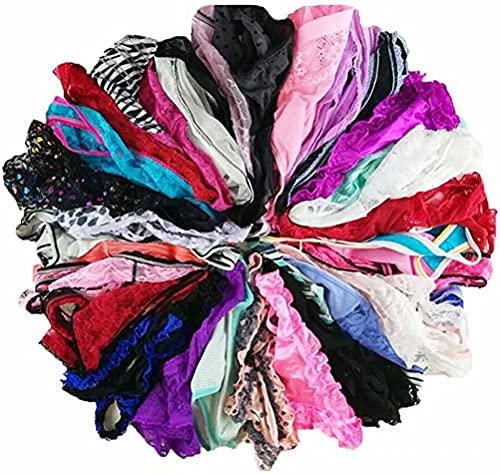Women Variety of Underwear Pack T-Back Thong G-String Panties,XL,20pcs