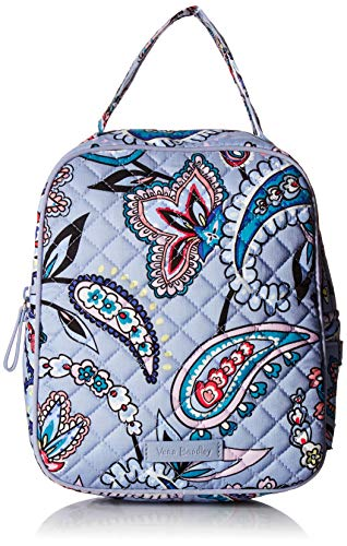 Vera Bradley Women's Signature Cotton Lunch Bunch Lunch Bag, Makani Paisley, One Size