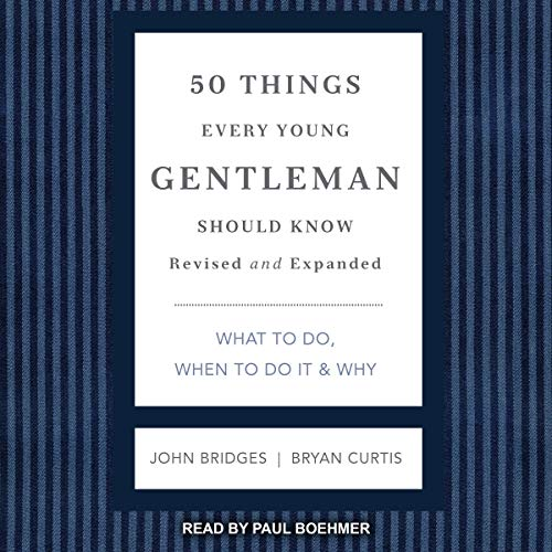 50 Things Every Young Gentleman Should Know, Revised and Expanded cover art