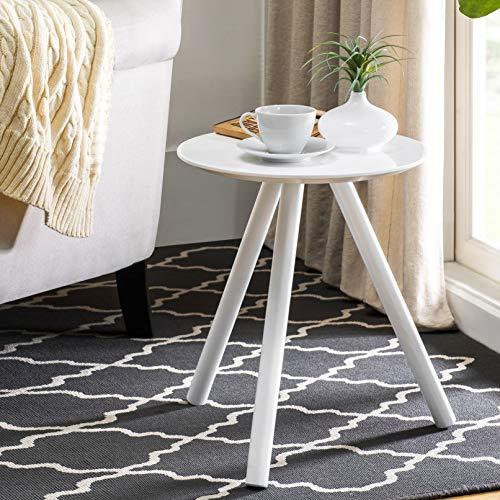2L Lifestyle Chillon End Table, White