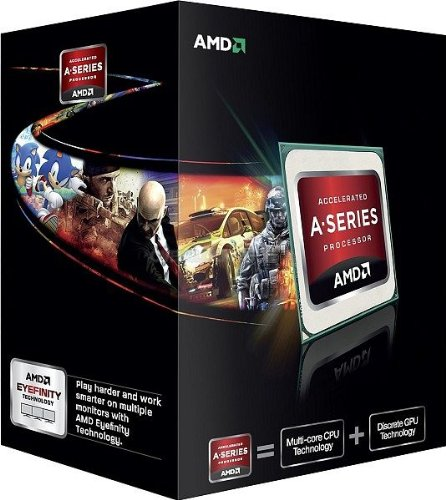 AMD A10-5800K APU 3.8Ghz Processor AD580KWOHJBOX