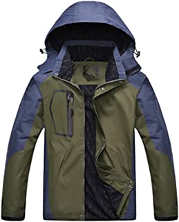 Mens Jackets Autumn Winter Casual Mens Army Windbreaker Hooded Coats Bomber