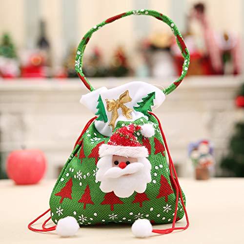 SFNTION Kerst Candy Tassen Gift Treat Tassen voor gunsten Pouch Present Bag Home Party Xmas Decoratie